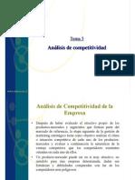 Analisis de Competitividad y Estrategia de Desarrollo
