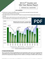 2013 2nd Quarter Charlottesville Real Estate Market Report