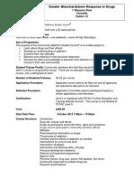 Information Sheet Application Form