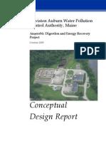 Conceptual Design Report Digester