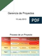 Procesos de Un Proyecto