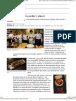 Cocineras en guerra contra el cáncer _ Cultura _ EL PAÍS
