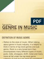 Genre in Music 2