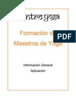 Requerimientos de Aplicación-Yoga certificacion