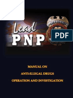 Anti-Illegal Drugs Special Operations Task Force Manual
