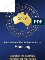 Coalition Housing Policy (2010)