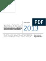 Terminos de Referencia Convocatoria Emprendimiento de Alto Impacto 2013