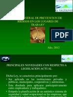 Presentacion de Ley Prevencion de Riesgos 222