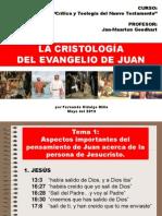 Cristologia de Juan