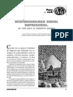 Responsabilidad Social Empresarial Un Reto Para La Industria Quimica