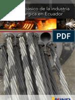 Industria siderúrgica Ecuador