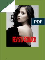 Revista Ecuador Especial Del Sr Alcalde de Paute