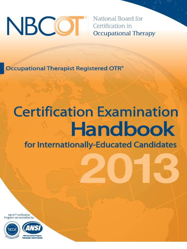 Cert Exam Handbook Iec Identity Document Test Assessment