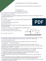EJERCICIOS SOBRE LEYES DE NEWTON Y GRAVITACION UNIVERSAL - para combinar.doc