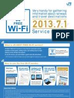 JR West Free Wi-Fi