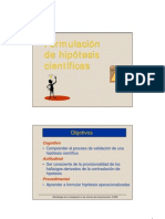 Formulacion Hipotesis-micc