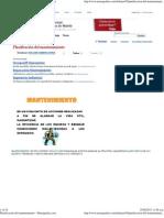Planificación del mantenimiento - Monografias