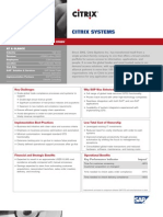 SAP GTS Case Study - Citrix_Systems