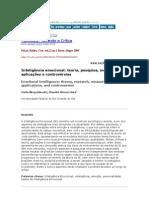 Inteligência emocional teoria, pesquisa, medida, aplicações e controvérsias