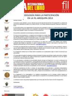 Metodología de participación FIL Arequipa 2013