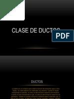 Clase de Ductos (1)