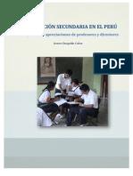 La educación secundaria en el Perú