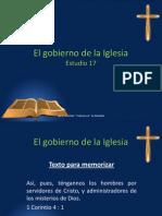 El Gobierno de La Iglesia - Estudio 17