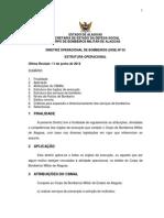 Diretriz Operacional - Dob - 003