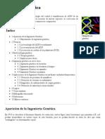 Ingeniería genética - Wikipedia, la enciclopedia libre