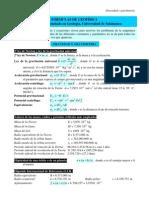 Formulas Geofisica