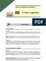 CNT 08 - O Poder Legislativo