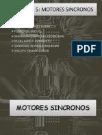 MOTORES SINCRONOS  capitulo 5