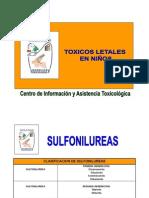 Toxicos Letales en Ninos
