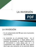 LA INVERSIÓN - MANKIW