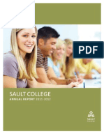 Sault College Annual Report 20112012