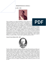 Presidentes de Guatemala Desde 1821-2012