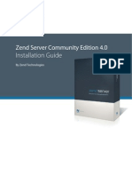 Zend Server CE 4.0 Installation Guide