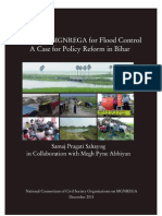 Leveraging Mgnrega for Flood Control a Case Study Fr Policy Reform in Bihar