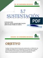 5.7 sustentacion