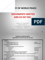 History of World Peace PowerPoint Presentation C. Thoorsell 16-2013 With Sound FINAL