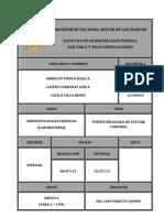 d.e.- Informe, Proyecto Final