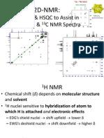 Tutorial on 2D-NMR