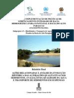 Executivo Subprojeto Agua Agrotoxico