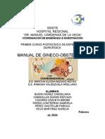 Manual de Tecnicas Quirurgicas de Ginecologia
