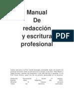 Manual de Redaccion Profesional Prefesional