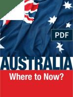 Australia Where to Now
