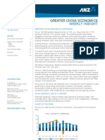 ANZ Greater China Economic Insight Incl Regional Chartbook - 16 July 2013