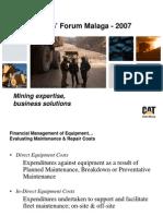Maintenance & Repair Costs - Jones