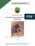 Manual Conservacion Mantenimiento y Operacion Sistemas Riego