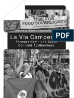 Riddell, John & Adriana Paz 2009 'La via Campesina-- Farmers North and South Confront Agribusiness' Socialist Voice Pamphlet (27 Pp.)
